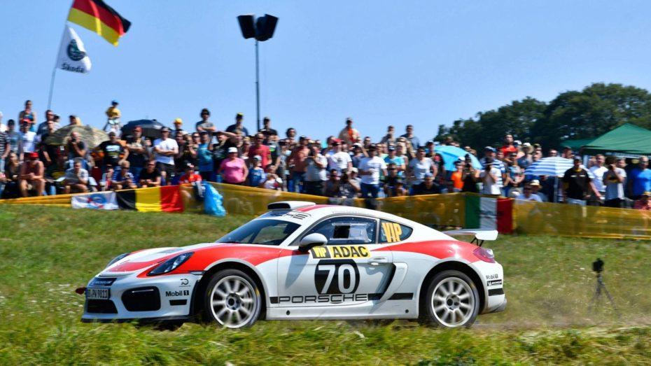 Así es el Porsche Cayman GT4 Clubsport Rally en su versión definitiva: Ansiamos verlo en producción