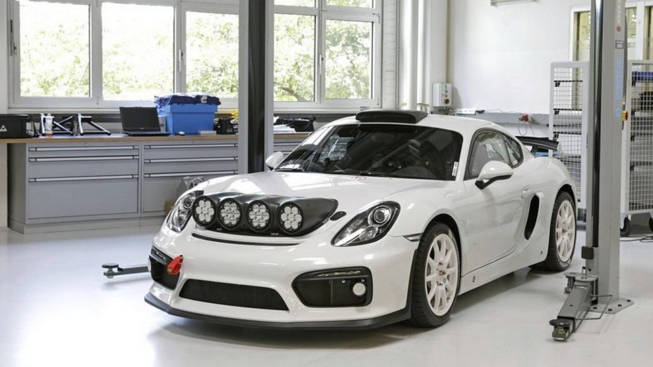 Porsche Cayman GT4 Clubsport Rally Concept: De las críticas depende su llegada a producción