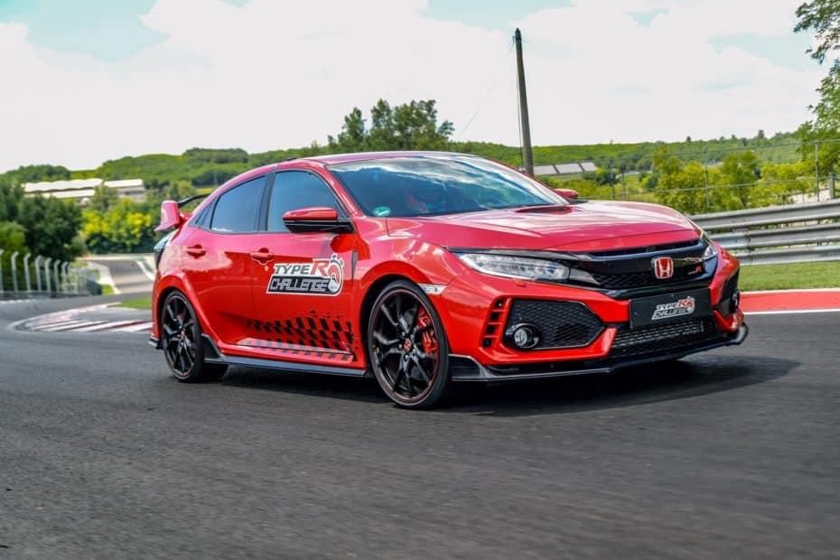 ¡Misión cumplida! El Honda Civic Type R completa el reto europeo con un nuevo récord en Hungaroring