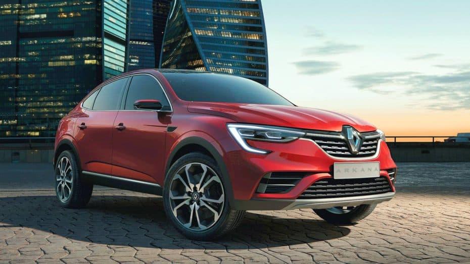 El Renault Arkana se desvela en Moscú: Los franceses se apuntan a la moda SUV Coupé fuera de Europa