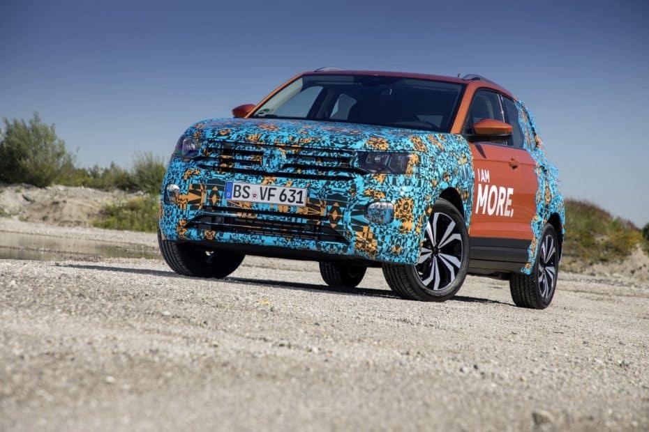 Nuevos detalles del Volkswagen T-Cross: Compacto, pero muy polivalente