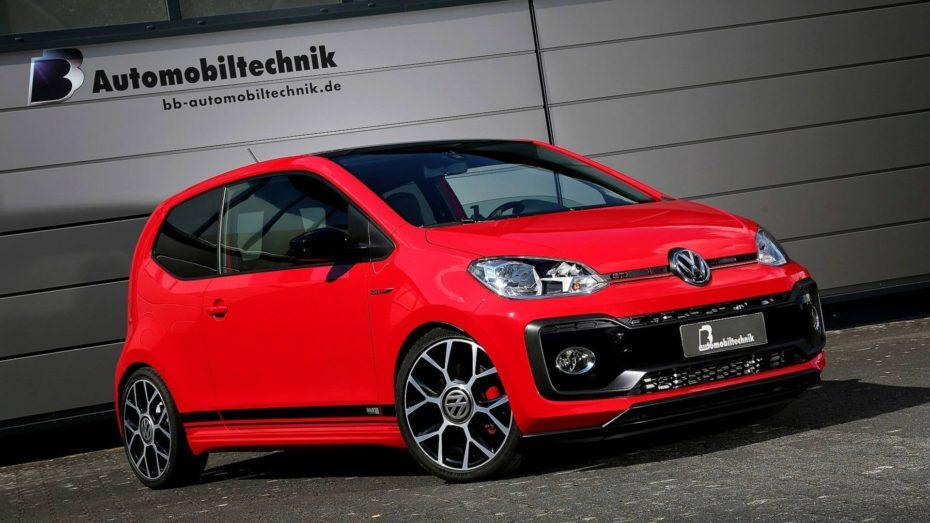 Saluda al Volkswagen Up! GTI más picante: Hasta 147 CV para solo 1.070 kilos