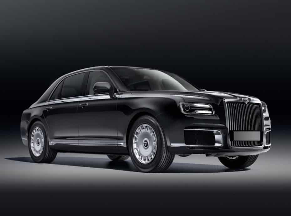 Nuevo Aurus Senat, el Rolls Royce ruso