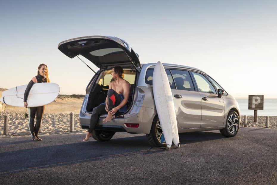 Los Citroën C4 Spacetourer estrenan caja automática con ocho velocidades