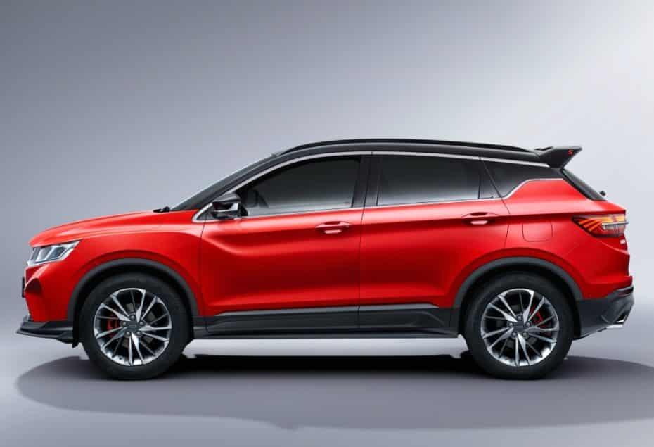 Geely presenta el SX11 Sport: Se venderá en todo el mundo