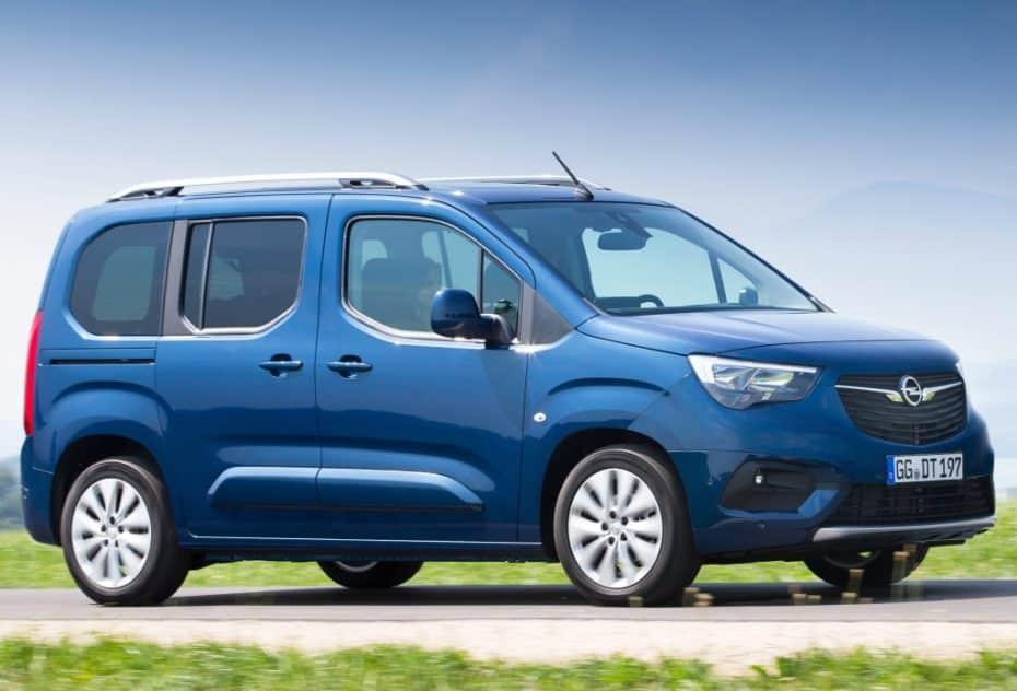 Nuevas imágenes del Opel Combo Life