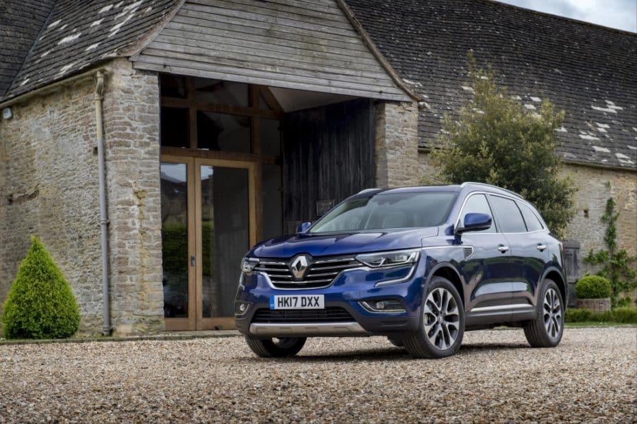 El Renault Koleos para su producción: A la espera de nuevos motores