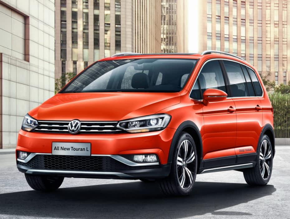 Nuevo VW Cross Touran L: Específico para China