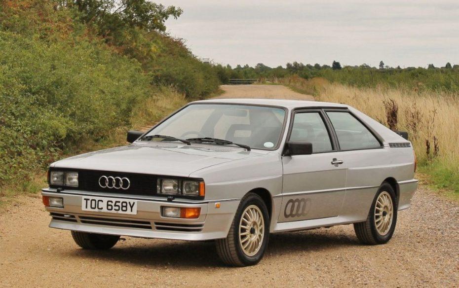 Este Audi Quattro Prototype de pre-producción está a la venta ¡Y solo hay 12 en el mundo!