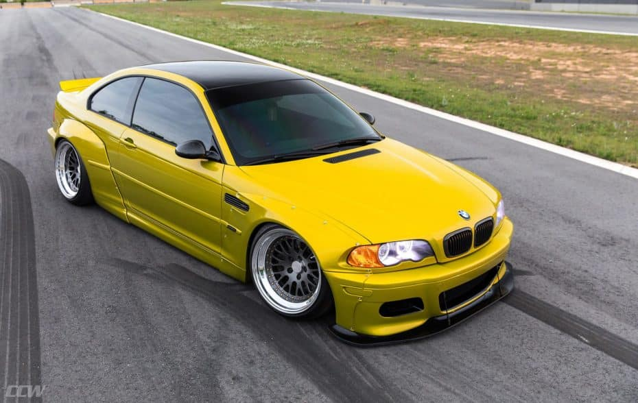 ¿Destrozo o acierto? Este espectacular BMW M3 E46 es todo un icono convertido en bestia