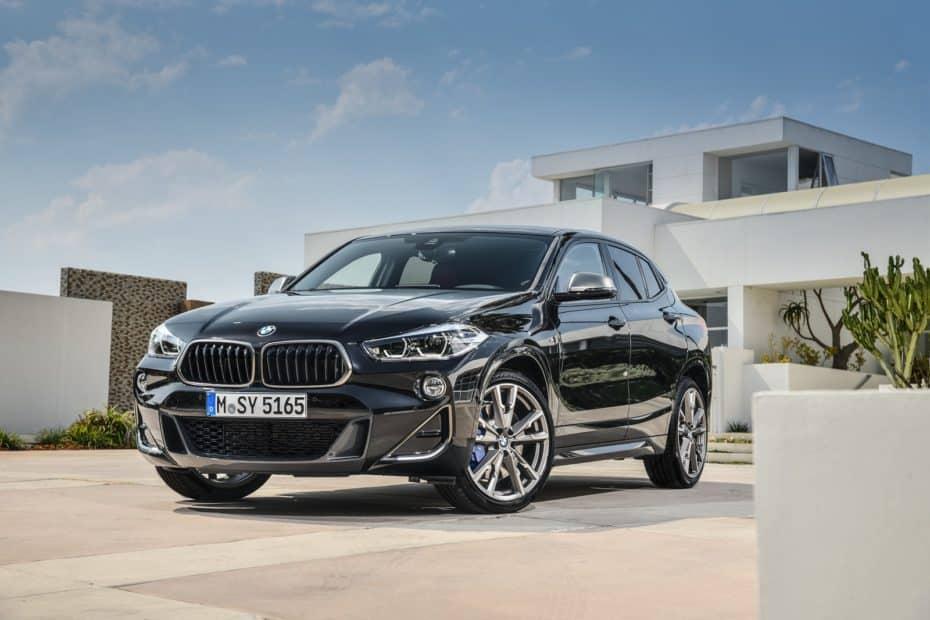 El BMW X2 M35i llegará en marzo de 2019: La opción más picante de la gama
