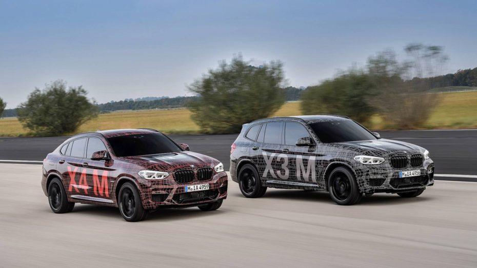 El debut de los BMW X3 M y X4 M es inminente: Así suena la poderosa mecánica de nuevo desarrollo