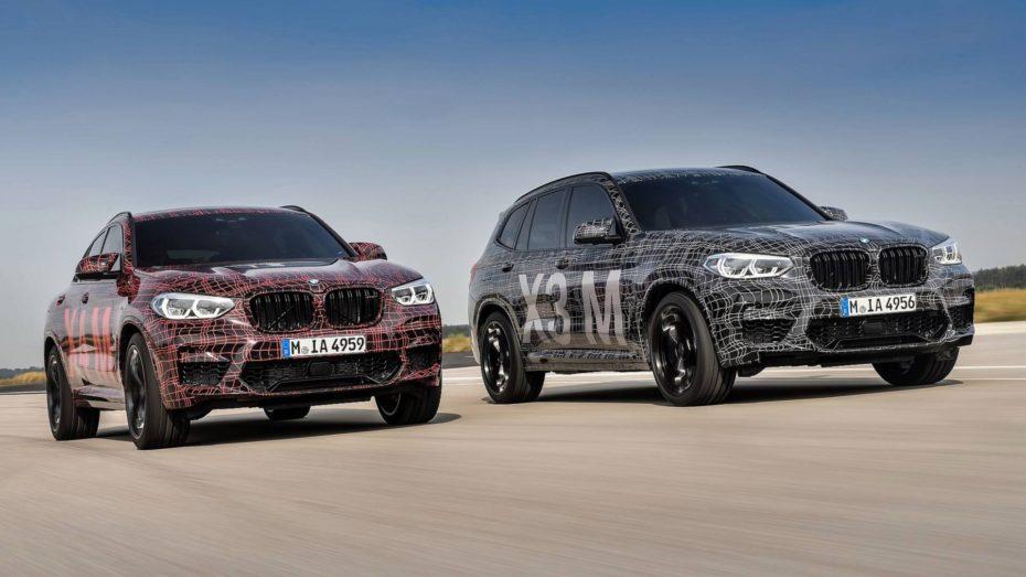 BMW ya tiene casi listos los X3 M y X4 M: Motor de nuevo desarrollo y mucha diversión en el eje trasero