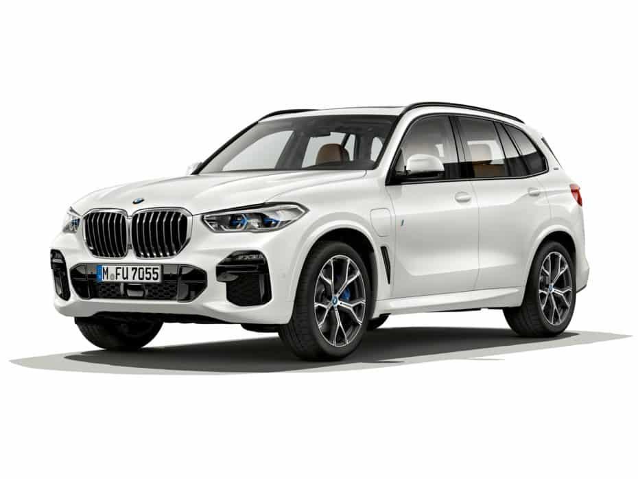 BMW X5 xDrive45e: El X5 híbrido-enchufable que llegará en 2019 con 80 km de autonomía eléctrica