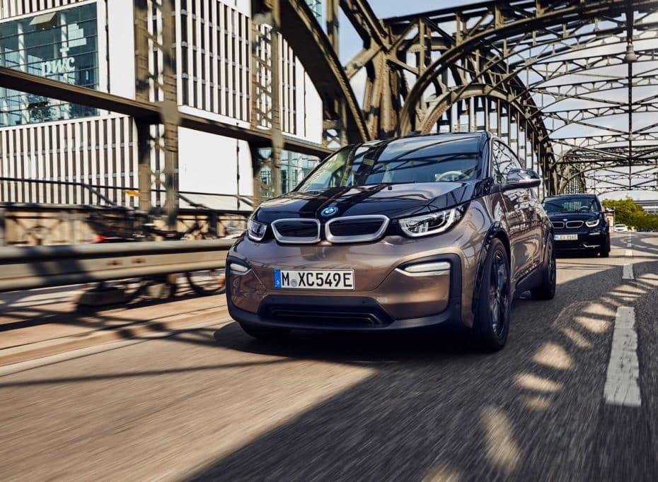 Los BMW i3 y BMW i3s ahora con batería de 120 Ah: Una autonomía un 30% superior