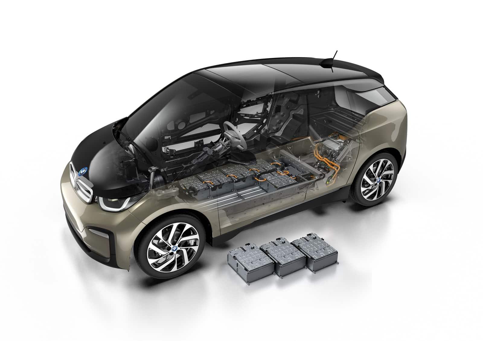 Las baterias lasttran al coche eléctrico