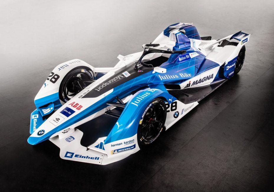 Así luce el BMW iFE.18 definitivo: Un monoplaza para la Fórmula E con 335 CV de potencia