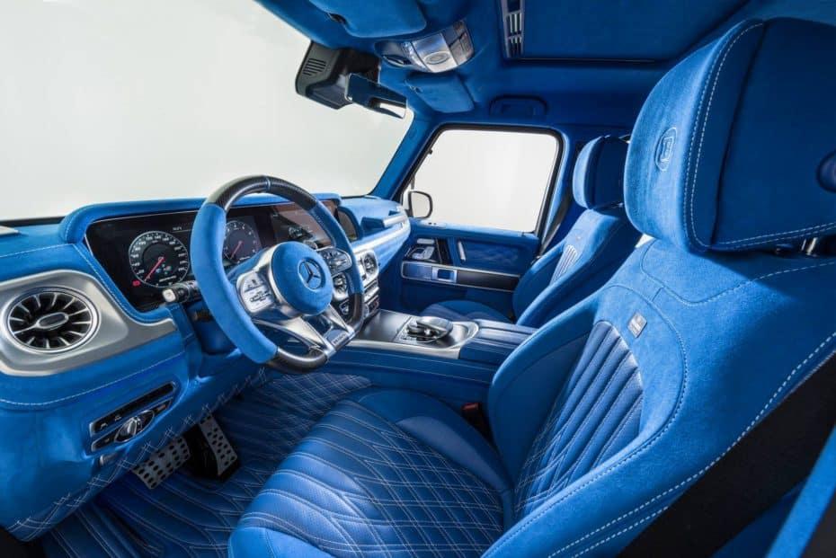 BRABUS ha creado el interior más salvaje jamás visto en el nuevo Mercedes-AMG G63