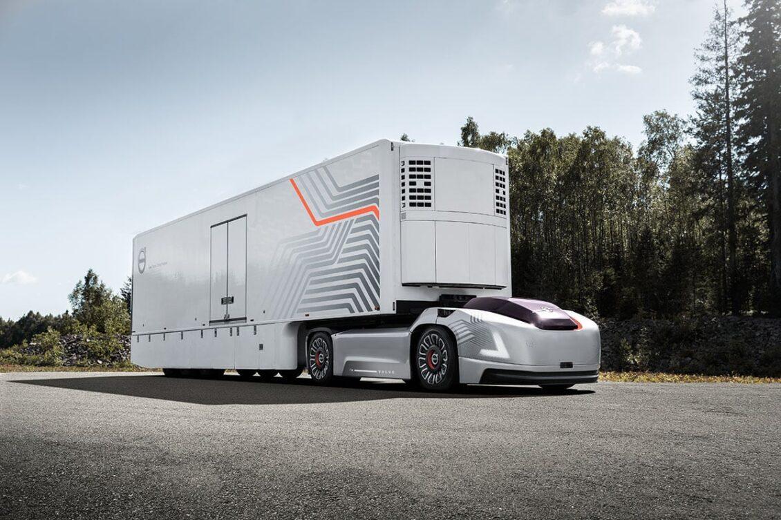 Atento a este camión eléctrico y autónomo que está desarrollando Volvo…
