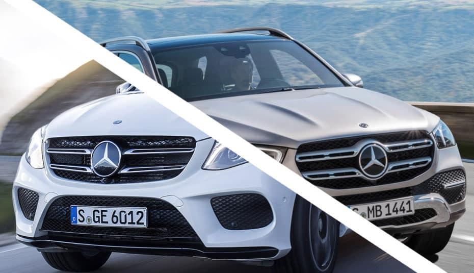 Comparativa visual: Juzga tú mismo cuánto ha cambiado el nuevo Mercedes-Benz GLE
