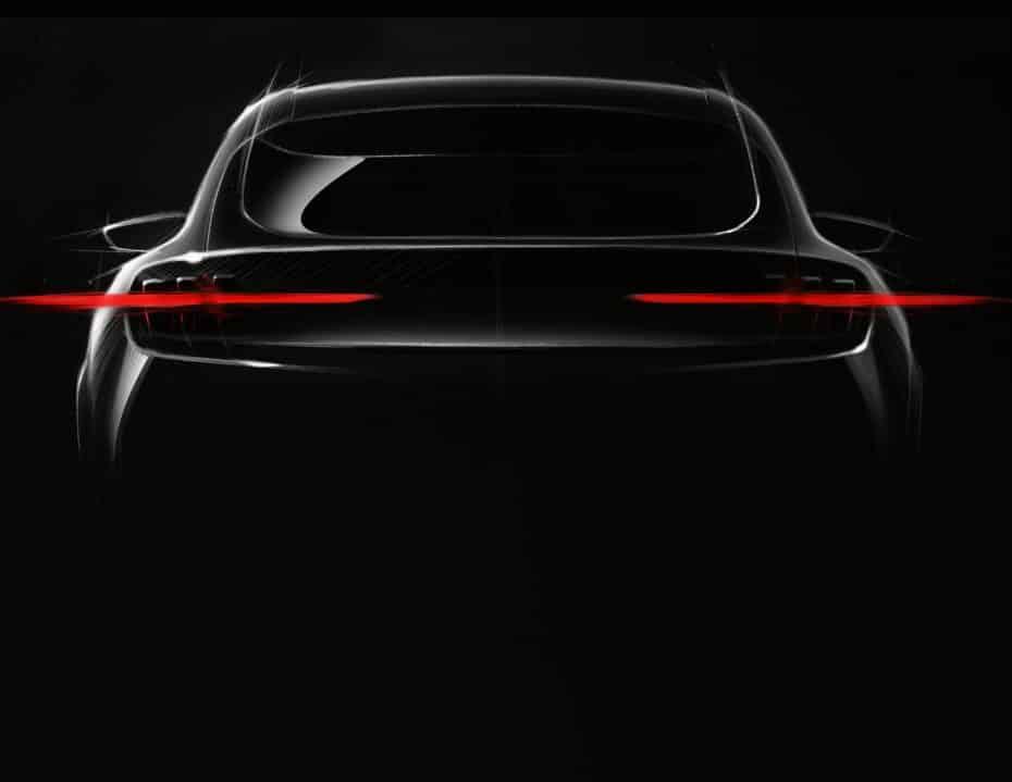 Ford nos da nuevas pistas sobre su nuevo vehículo 100% eléctrico inspirado en el Mustang