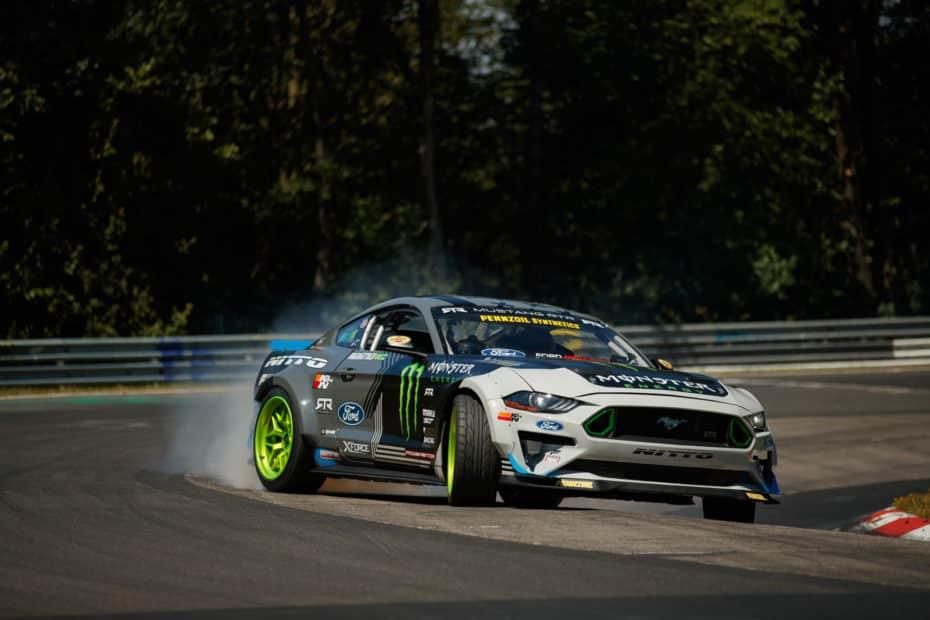Este Ford Mustang RTR de 900 CV se ha hecho Nürburgring entero derrapando ¡Y ya tenemos el vídeo completo!