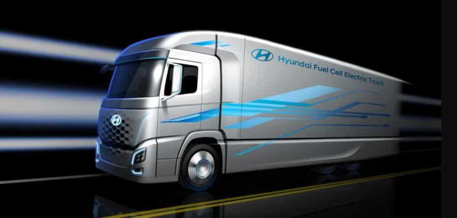 Así es el camión eléctrico con pila de combustible de Hyundai