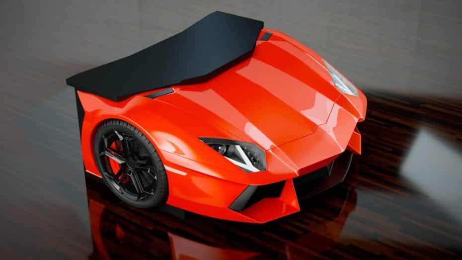 ¡Prepara la chequera! Olvida el escritorio Ingatorp de IKEA, quieres este Lamborghini Aventador, y lo sabes