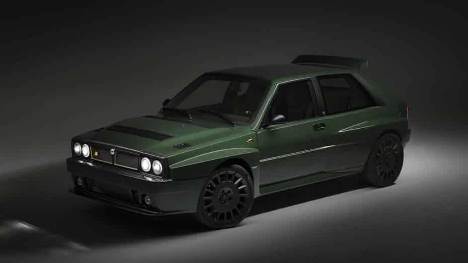 El Lancia Delta Futurista ya es una realidad: La reinterpretación del icono y sus 330 CV salen muy caros