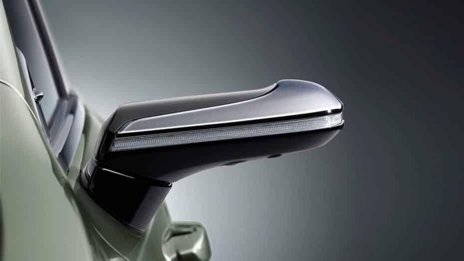 ¿Adiós a los retrovisores convencionales? El Lexus ES los sustituirá por cámaras y pantallas
