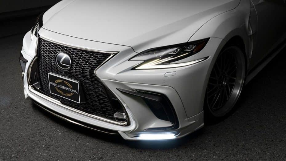 Lujo y extravagancia en estado puro, así es el Lexus LS de Wald International
