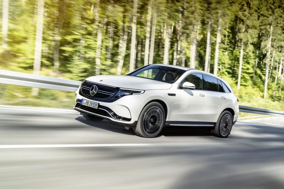 El Mercedes-Benz EQC 400 ya es una realidad: Llegará en 2019 con 408 CV y 450 km de autonomía