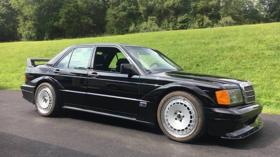 Este Mercedes 190E 2.5-16 Evolution II no es lo que parece ¿Adivinas qué secreto esconde?