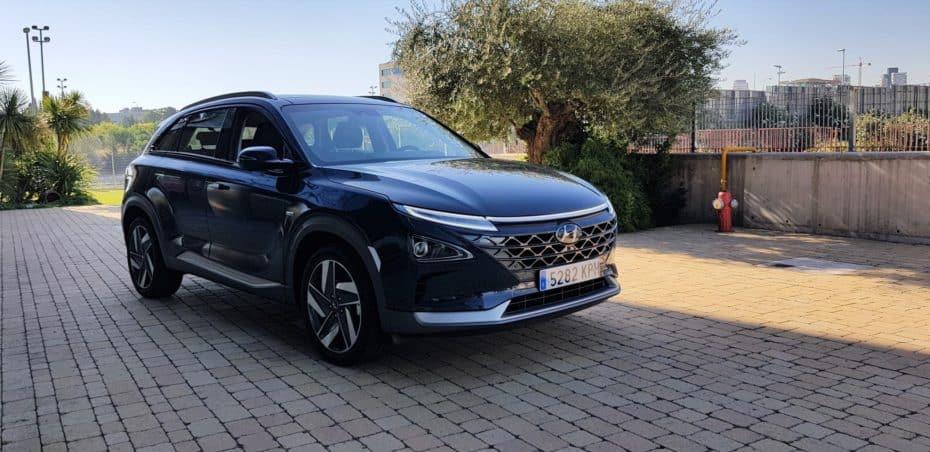 Hyundai matricula el primer vehículo de pila de combustible en España