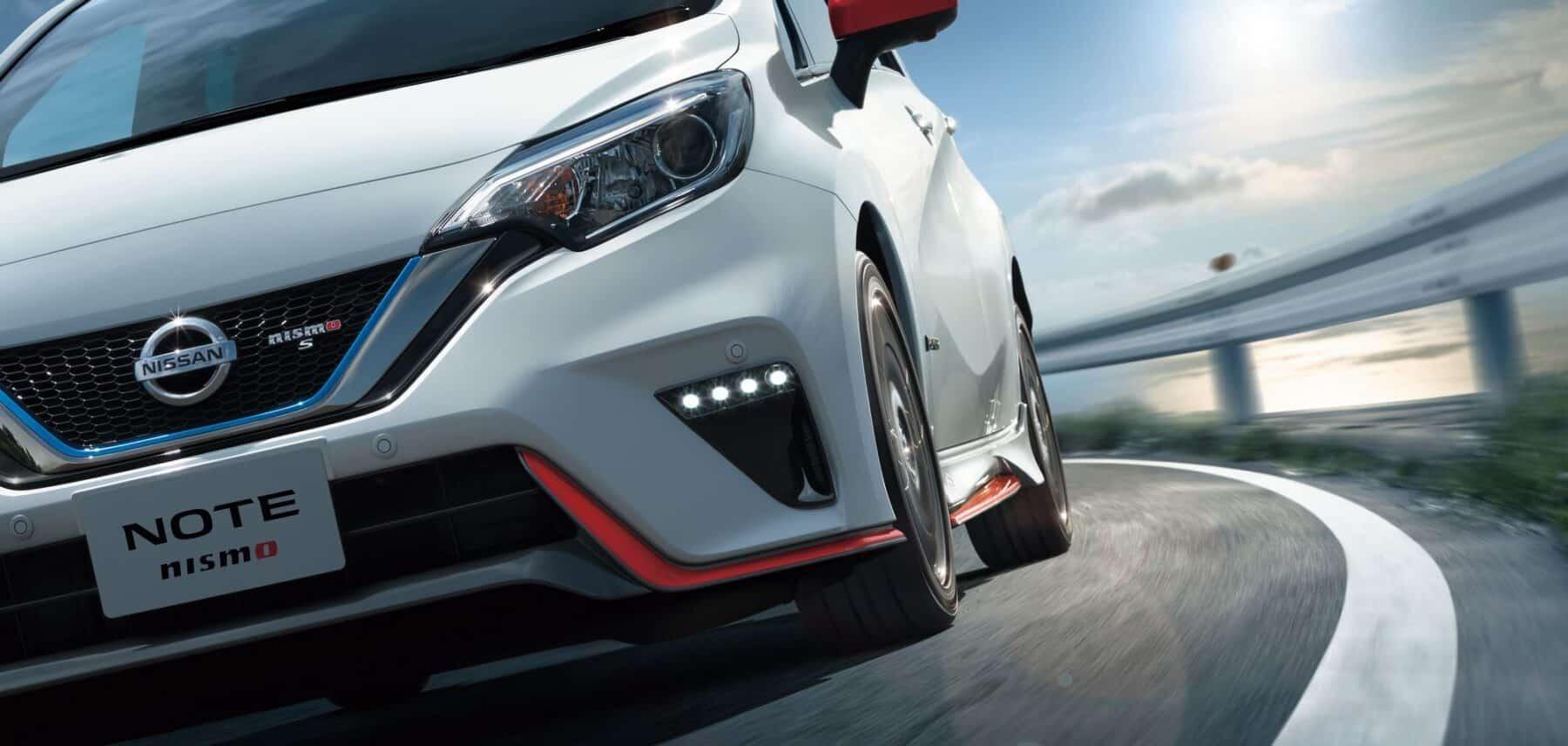 Así es el pintoresco Nissan Note e-Power Nismo S 2018