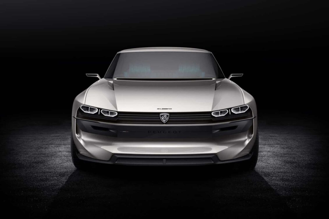 Peugeot e-Legend concept: Tecnología y conducción autónoma con esencia retro