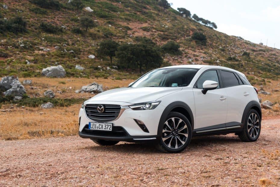 Prueba gama Mazda CX-3 2018: Una razón de peso para no temer ni a los diésel ni a los SUV