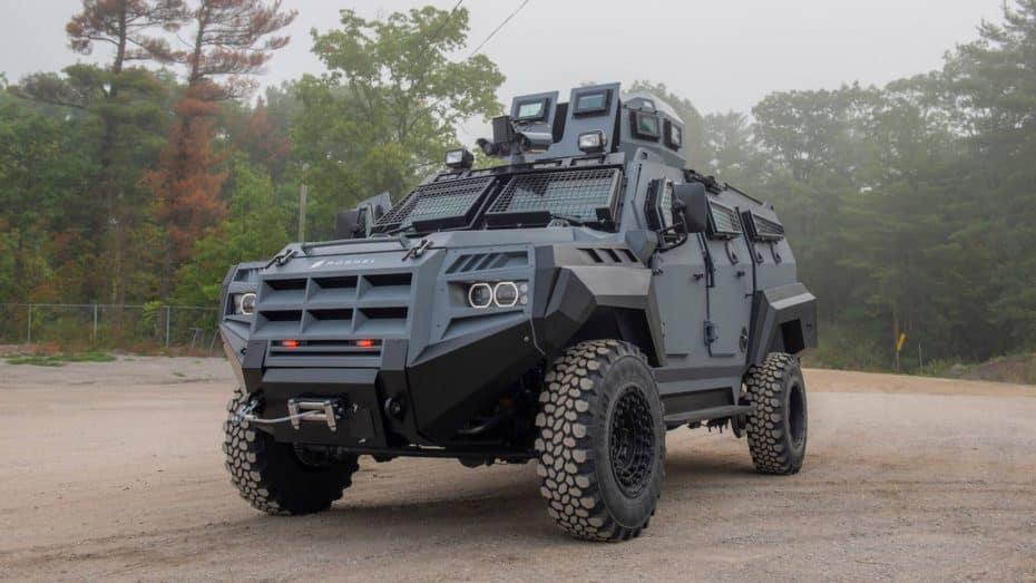 El nuevo Roshel Senator APC es el vehículo perfecto para sobrevivir al fin del mundo