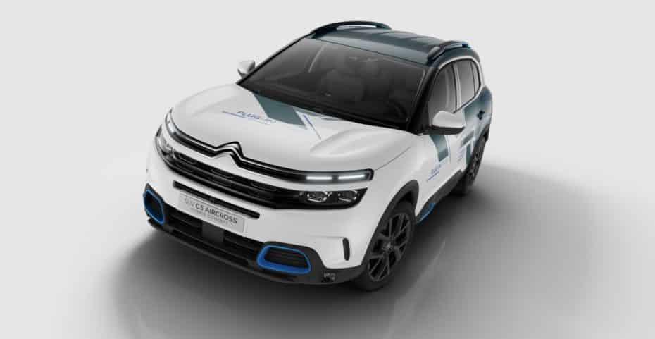 El C5 Aircross Hybrid Concept será presentado en París y verá la luz en 2020