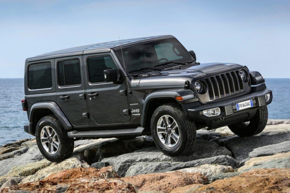 Todos los precios del nuevo Jeep Wrangler para España