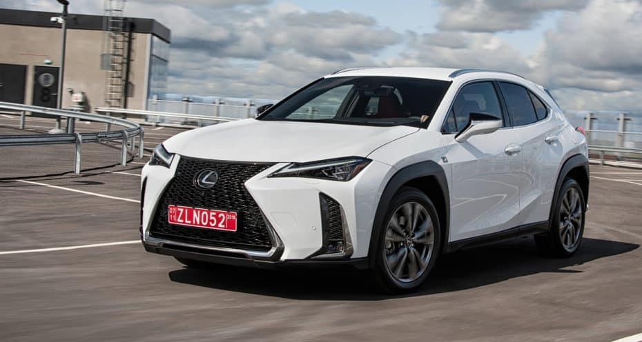 Todos los precios del Lexus UX para España