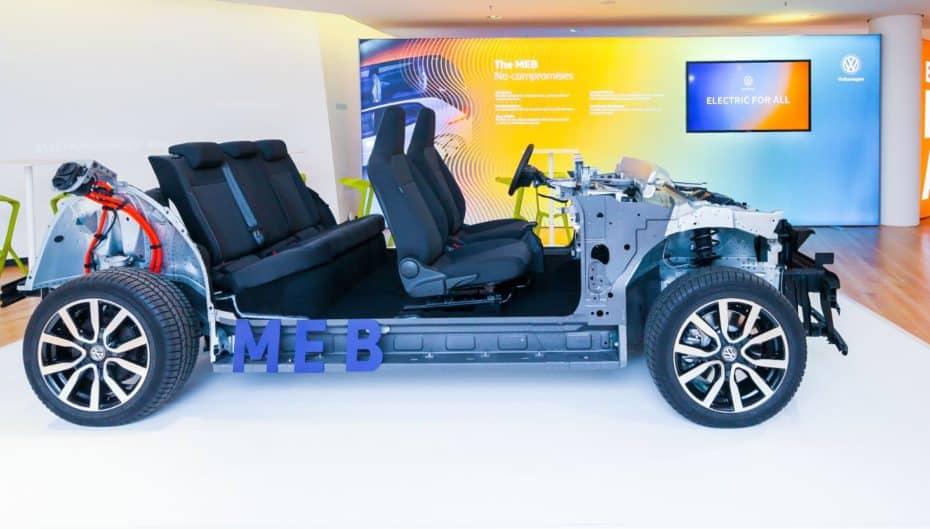 Se llama MEB y es la nueva plataforma modular de propulsión eléctrica de Volkswagen