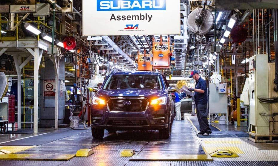 Un error en un brazo robótico obliga a Subaru a destruir casi 300 vehículos
