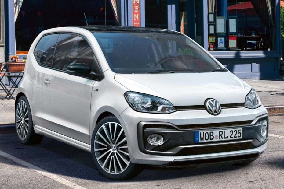 El Volkswagen Up! recibe el acabado R-Line