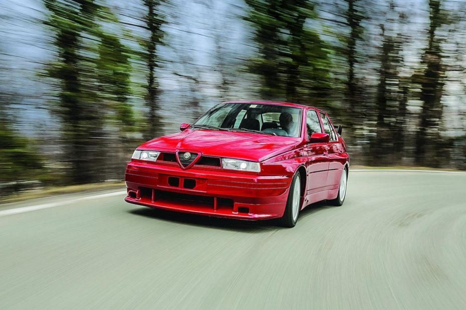 A subasta el Alfa Romeo 155 GTA Stradale de 1993 ¡Y solo hay uno en el mundo!