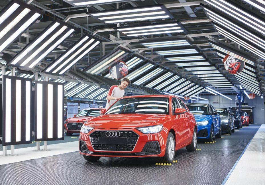 Arranca en Martorell la producción del nuevo Audi A1