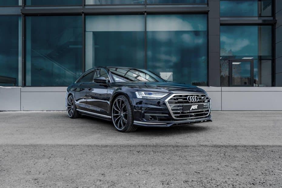 ¿El nuevo Audi A8 te parece soso? ABT Sportsline ha creado un kit más deportivo y potente