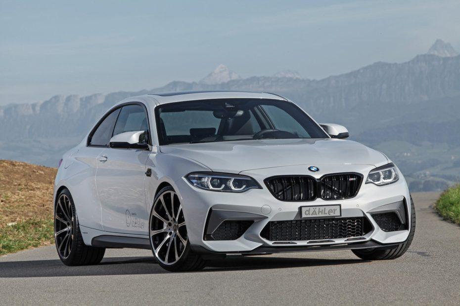 Si el BMW M2 Competition te sabe a poco, Dahler te propone añadirle 130 CV y 180 Nm extra