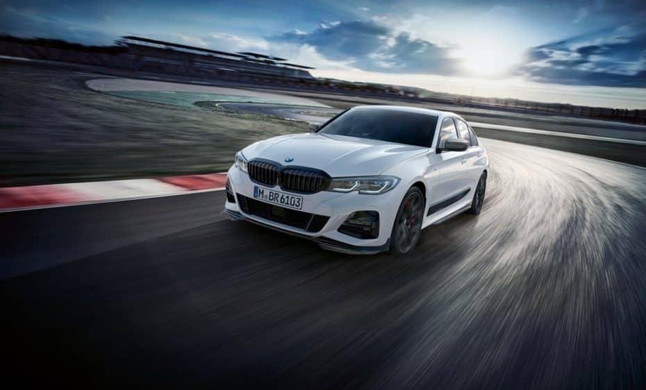 El nuevo BMW Serie 3 también contará con todo un elenco de 'chucherías' M Performance