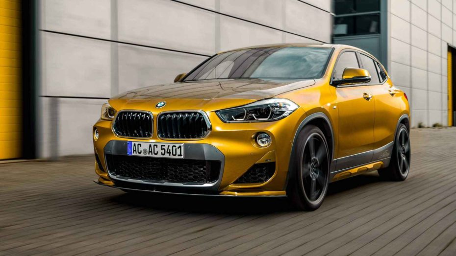 ¿El BMW X2 te parece soso? AC Schnitzer ha dado con la clave y viene con sobredosis de potencia